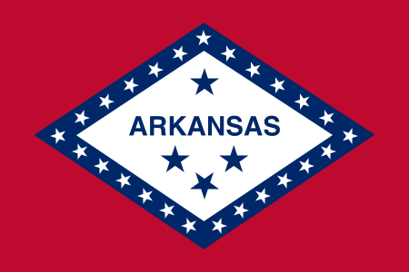 Arkansas State Information Symbols Capital Constitution Flags