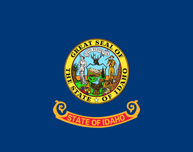 Idaho State Information Symbols Capital Constitution Flags