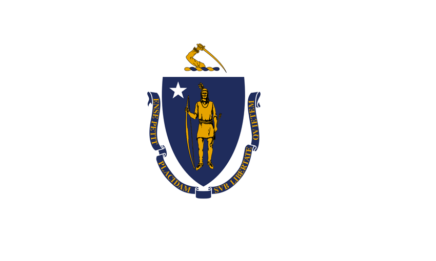 Massachusetts State Information Symbols Capital Constitution