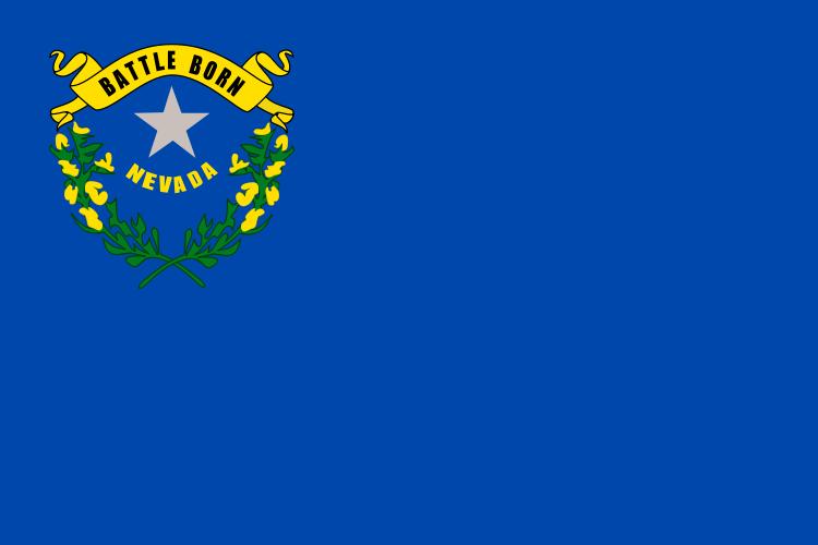 Nevada State Information Symbols Capital Constitution