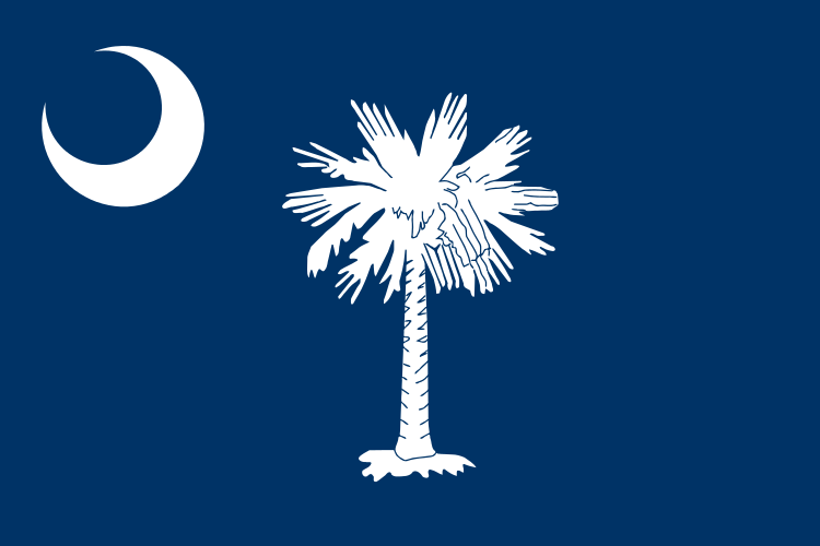 South Carolina State Information Symbols Capital Constitution