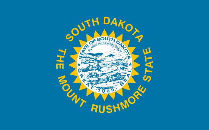 south dakota state flag state flag