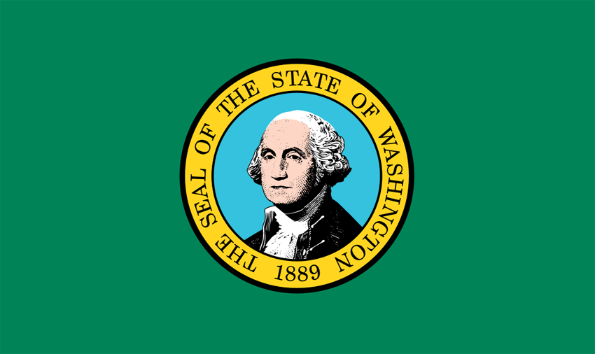 Washington State Information - Symbols, Capital, Constitution, Flags ...