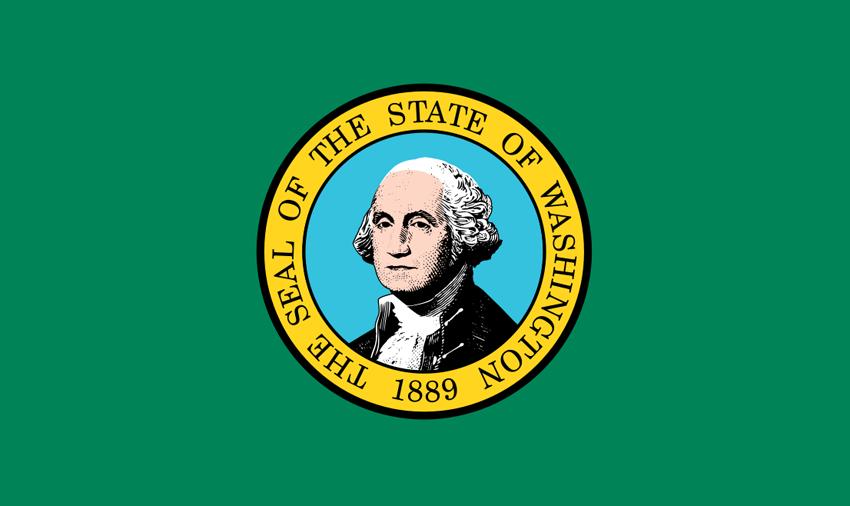 washington state map location washington state flag state flag