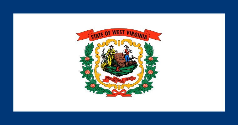 West Virginia State Information Symbols Capital Constitution