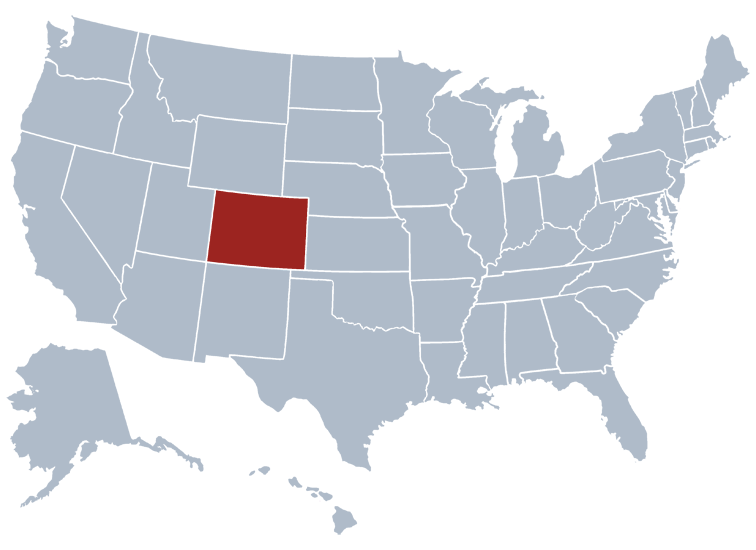 Maps Of Colorado That Are Just Too Perfect And Hilarious Canada - Us map colorado