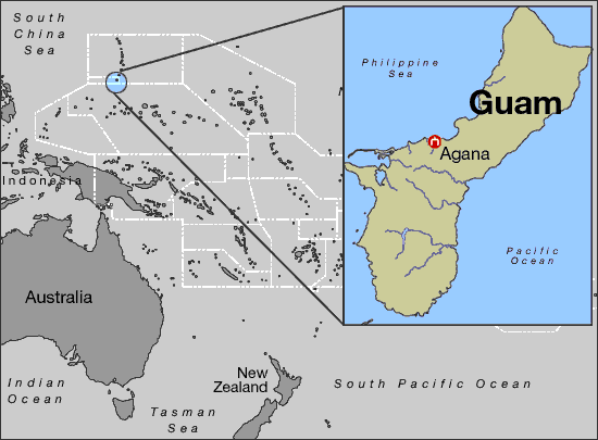 Guam State Information Symbols Capital Constitution Flags Maps