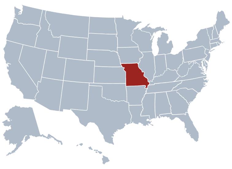 Missouri State Information - Symbols, Capital
