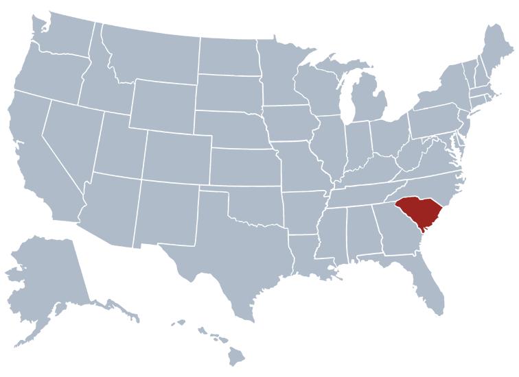 South Carolina State Information - Symbols, Capital ...