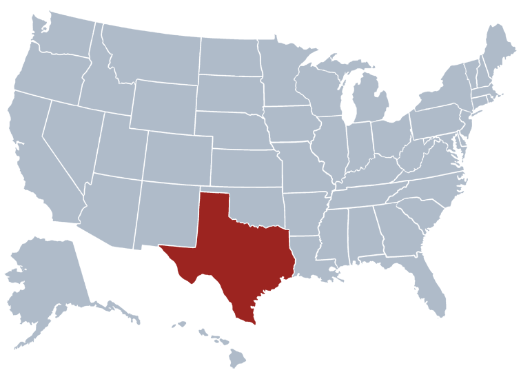 Texas State Information Symbols Capital Constitution Flags - Map of us by date of admission