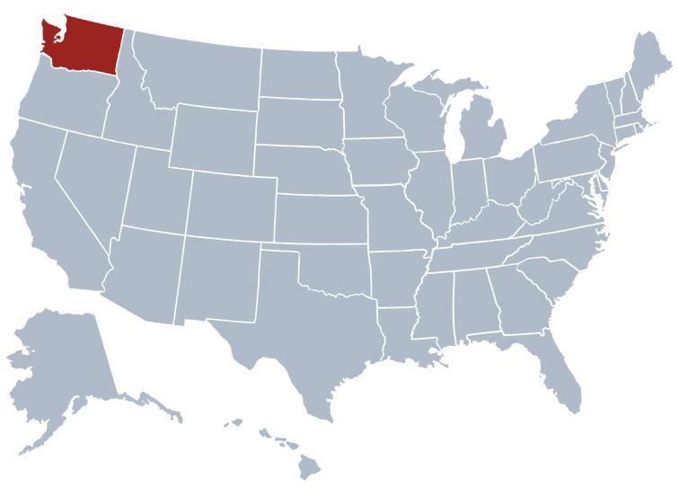 washington state on a map washington dc map