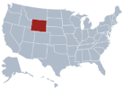 Wyoming State Map