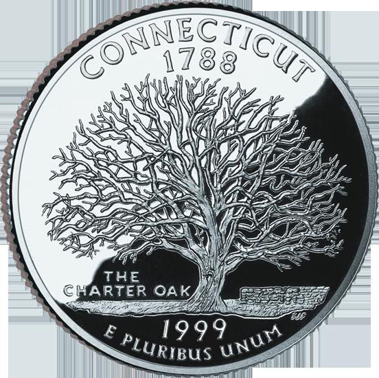 Connecticut State Quarter 50states Com