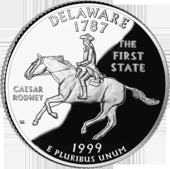 California Colleges And Universities >> Delaware State Quarter - 50States.com