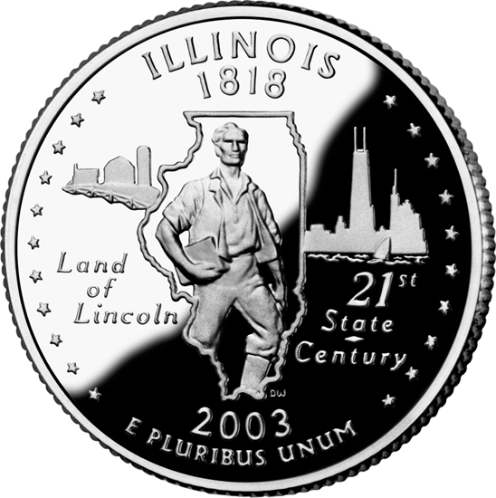 Land of Lincoln; 21st state/century