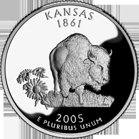 Kansas State Quarter 50states Com
