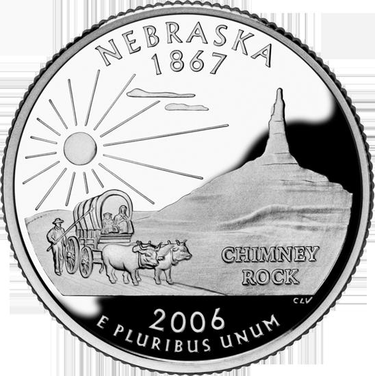 West Virginia Colleges >> Nebraska State Quarter - 50States.com