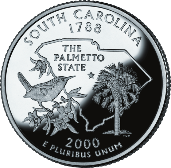 South Carolina State Quarter 50states Com