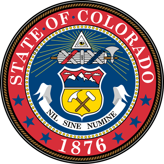 Colorado State Information  Symbols Capital Constitution Flags