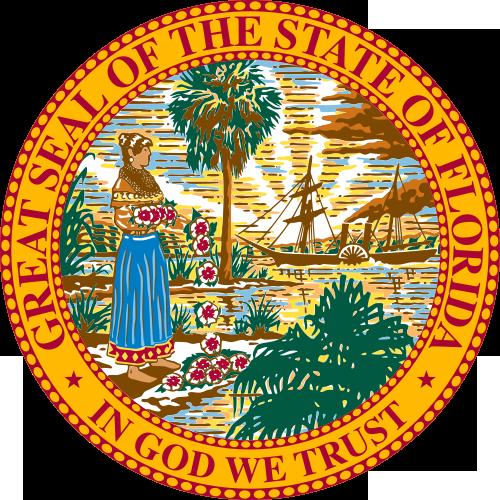 Florida State Information Symbols Capital Constitution