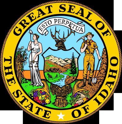 Idaho State Seal. State Seal