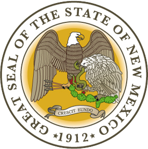 new mexico state information symbols capital constitution flags