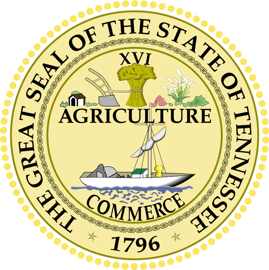 Tennessee State Information Symbols Capital Constitution Flags