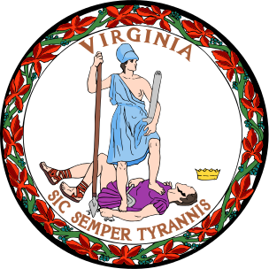Virginia State Information Symbols Capital Constitution Flags - Va which state in usa
