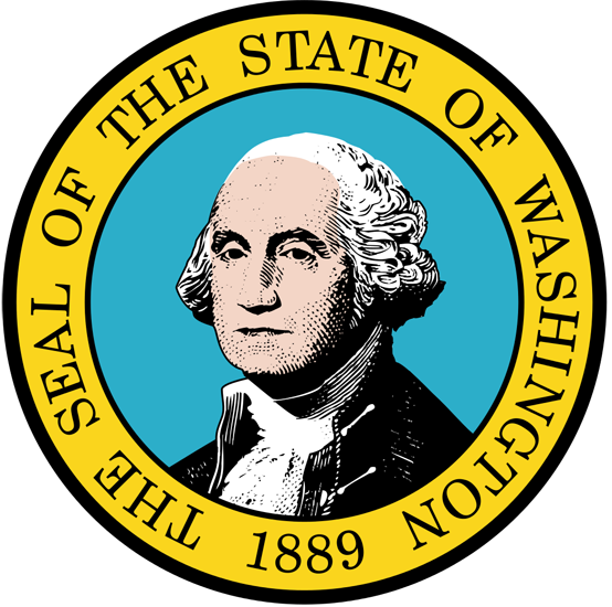 Washington State Information Symbols Capital Constitution Flags