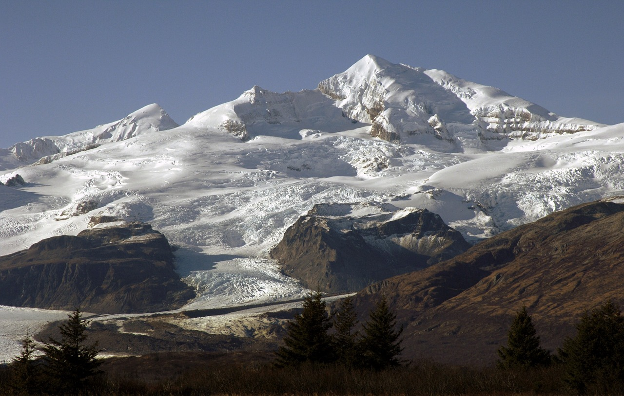 Katmai National Park Stellar Mountain