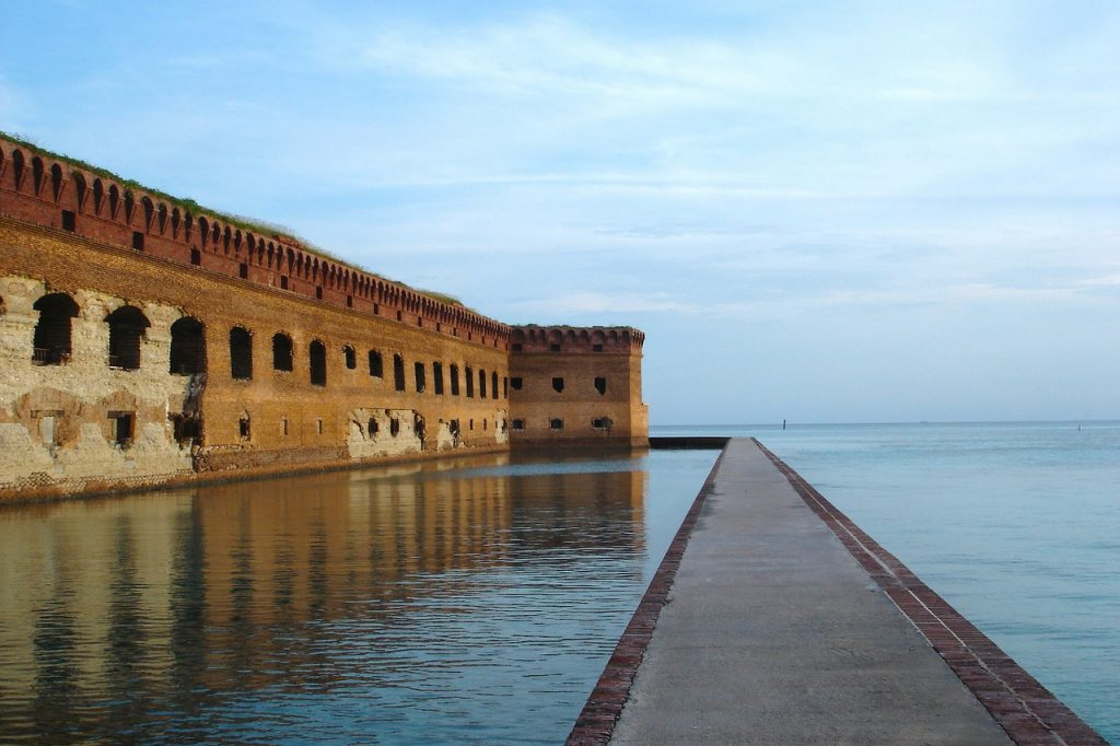 Fort Jefferson at Dry Tortugas National Park in Florida