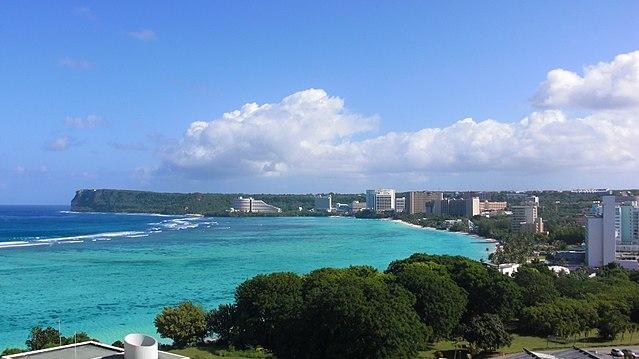 Guam coastline photo